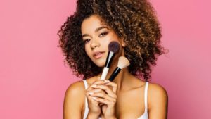 how to apply foundation with brush