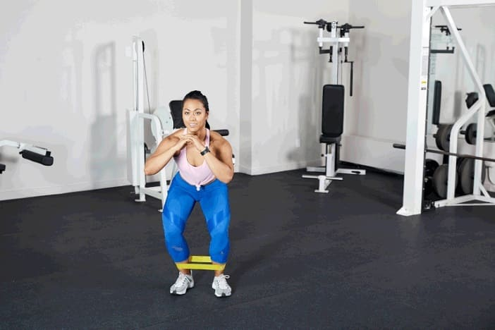 Banded SidestepExercise to Build a Bigger Bum